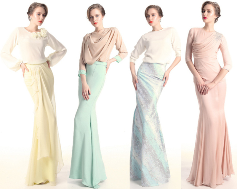 ni design from Nurita Harith.. fames gak dia ni skang..love the pastel ...