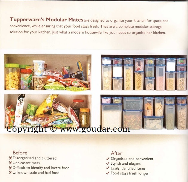 Tupperware India Flyer March 2013 / Tupperware Consumer Flyer March
