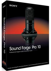 ScreenShoot Sony Sound Forge Pro v10.0.506