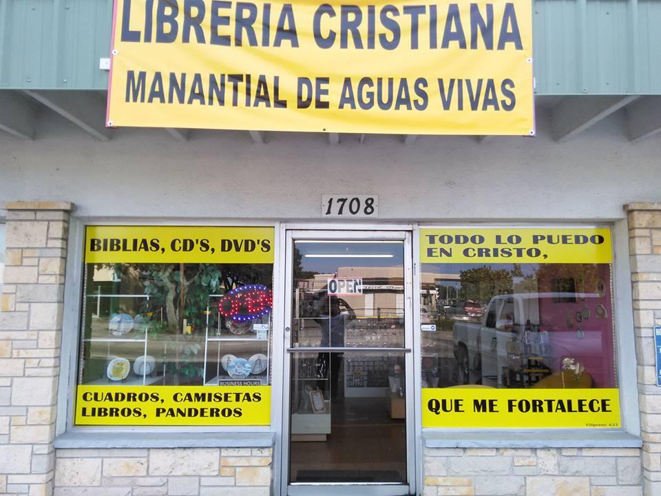 Librería cristiana       manantial de aguas      vivas