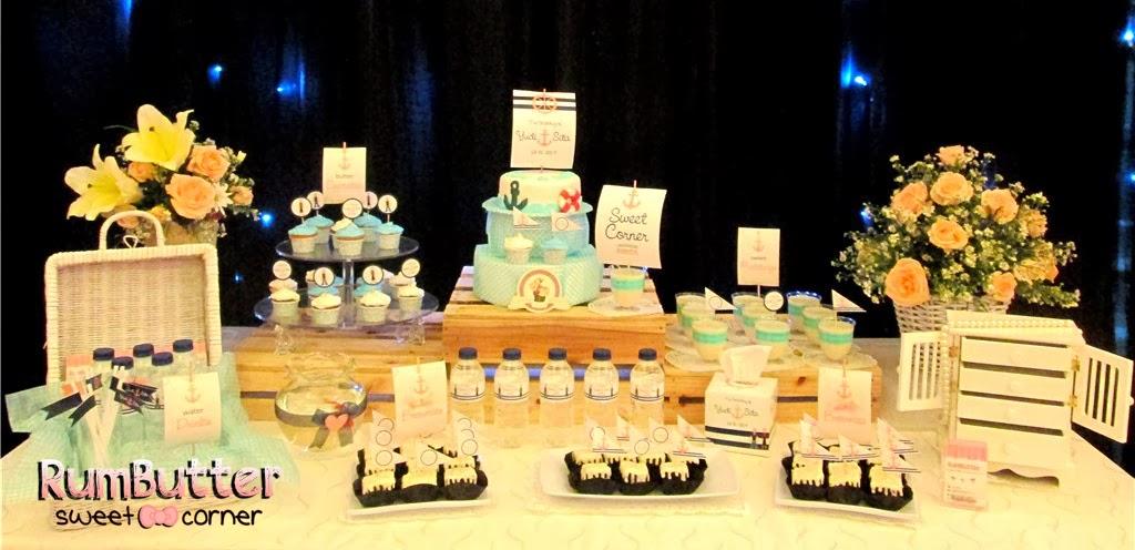 Rumbutter Sweet Corner & Dessert Table: Wedding of Yudi & Sita ...