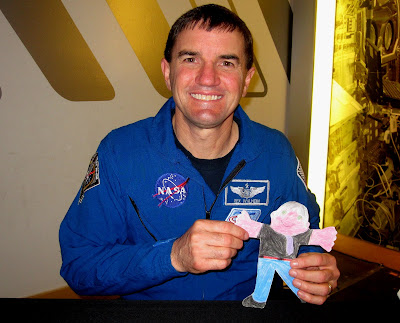 Astronaut Rex Walheim