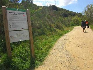 Beginning of Carretera de les Aigües