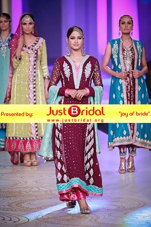 Pakistani bridal formal dresses 2015