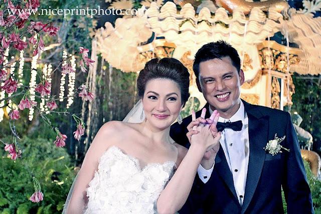 Rustom padilla carmina villaroel wedding