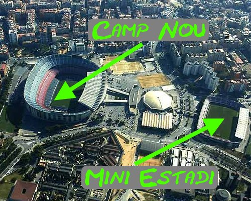 Camp Nou and Mini Estadi