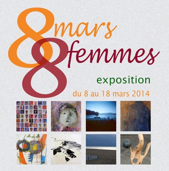 Exposition 8 mars, 8 femmes à PAU