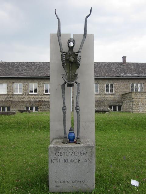 Slovenian Monument, Mauthausen Concentration Camp, Vienna / SouvenirChronicles.blogspot.com