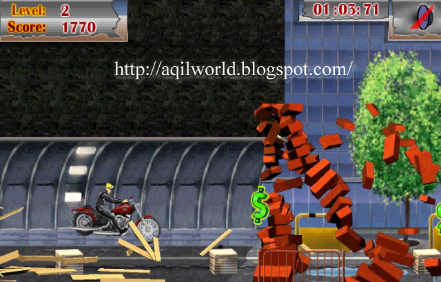 Cycle Commando Free Game