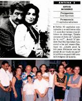 José Sacristán y Alejndra Grepi, actores de Este es mi barrio