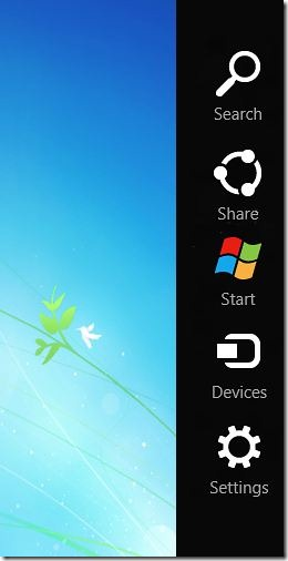 By harsha how to get windows 8 charms bar for your windows 7 desktop