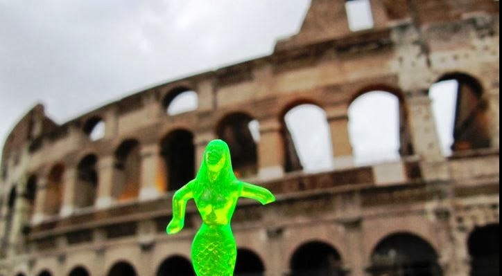 Mermaid in Rome