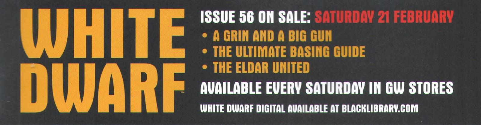 Adelanto de la White Dwarf Weekly número 56