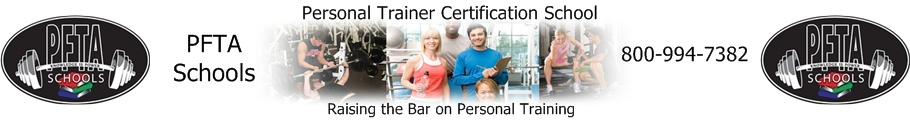 PFTA Personal Trainer Certification School in Austin, Dallas, Houston, San Antonio, TX