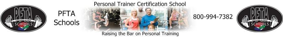 PFTA Personal Trainer Certification School in Austin, Dallas, Houston, San Antonio, TX