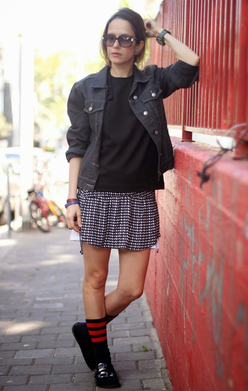 skirt, zarapeople, streetstyle, ootd, lookoftheday, short, ss14, fashionblog, אופנה, שבועאופנה, בלוג אופנה, טלילוגשינחשון, talilugashinachon