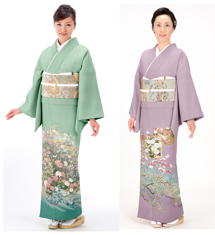 Traditional japanese kimono parts in addition baby girl christmas