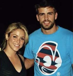 Shakira y Pique juntos