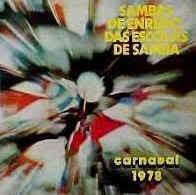 foto da capa do cd sambas de enredo 1978 grupo de acesso