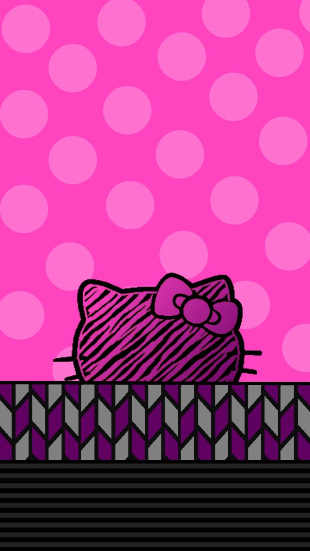 wallpaper iphone 5 pink kitty - photo #46