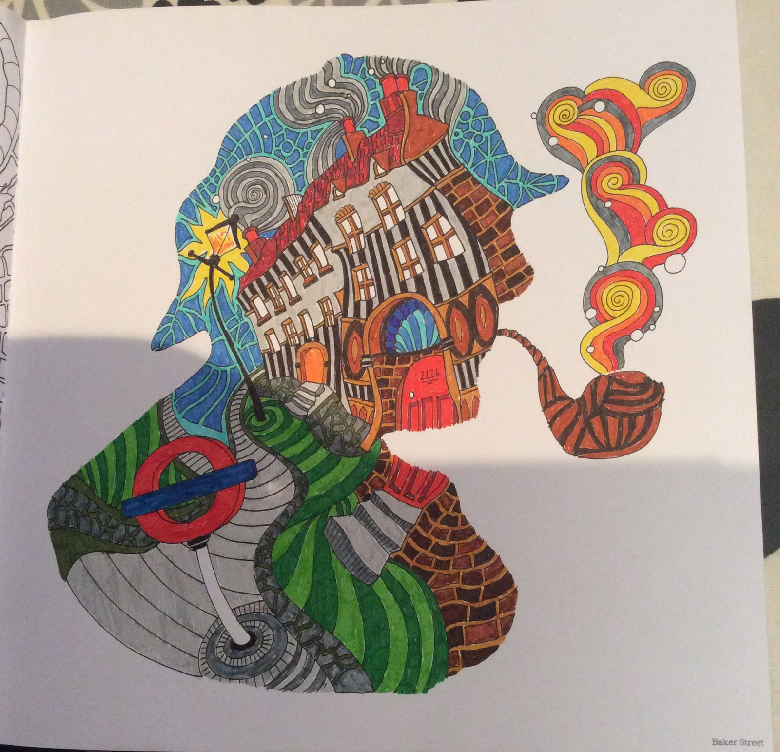 The coloring book analysis - New Work In Progress This A Gorgeous Colouring Book