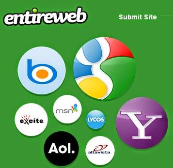 اضف موقعك الى محركات البحث