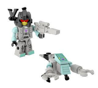 Hasbro Transformers Kre-O Micro Changers Combiners Series 2 - Nautilator (Seacons)