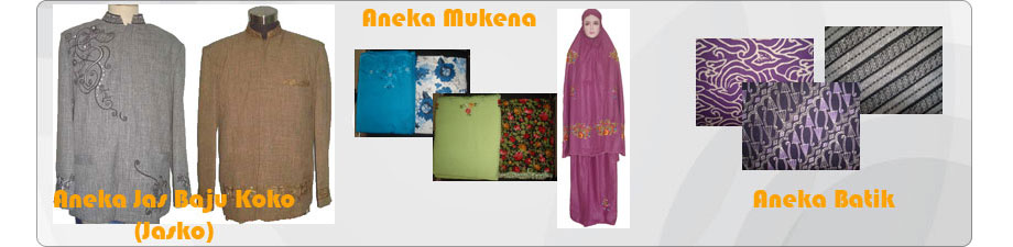 Baju Koko Mukena Batik
