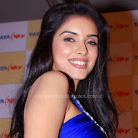 Asin hot pics in blue dress