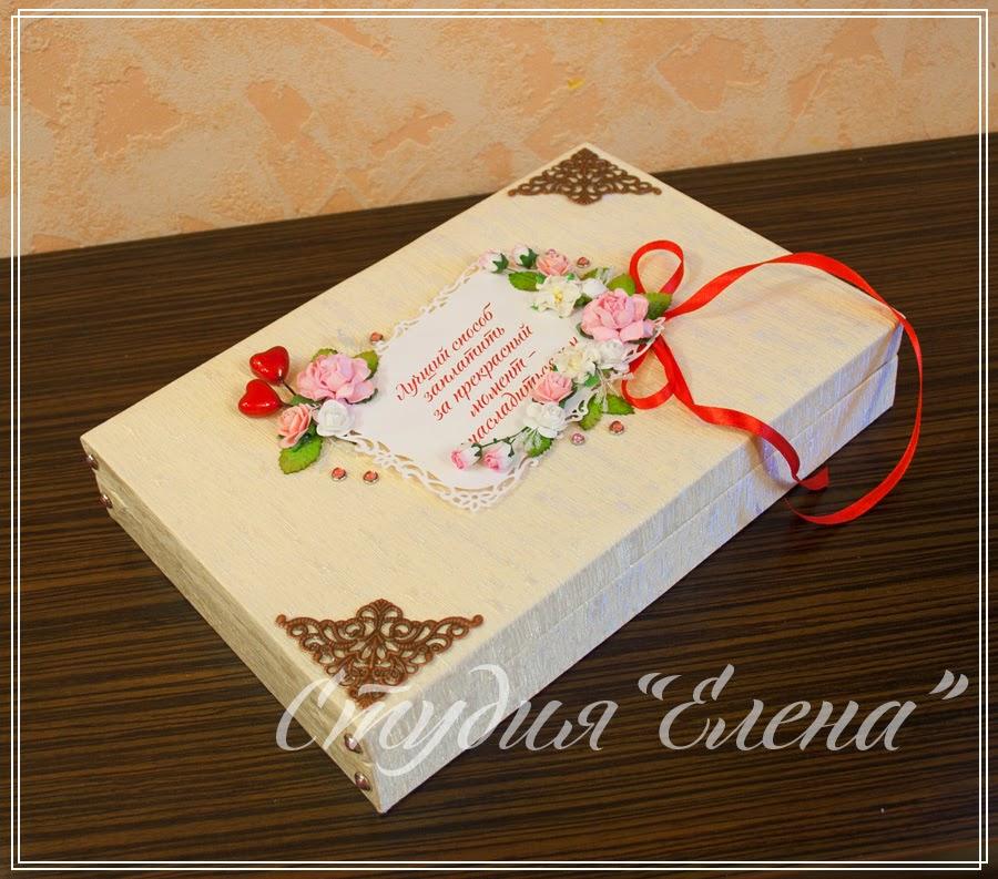 Коробка (шкатулка)  для конфет ручной работы