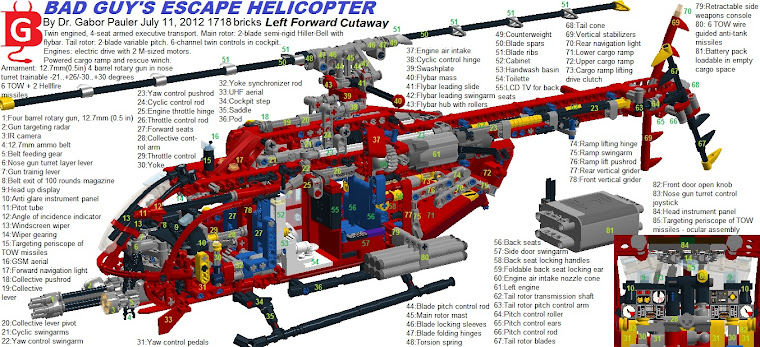 Lego helicopters