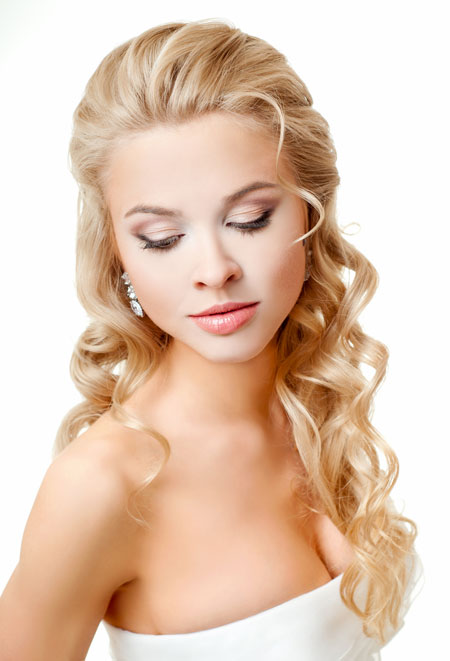 Hairstyle Down : these hairstyles hairs from the front are styled up while hairs at the ...