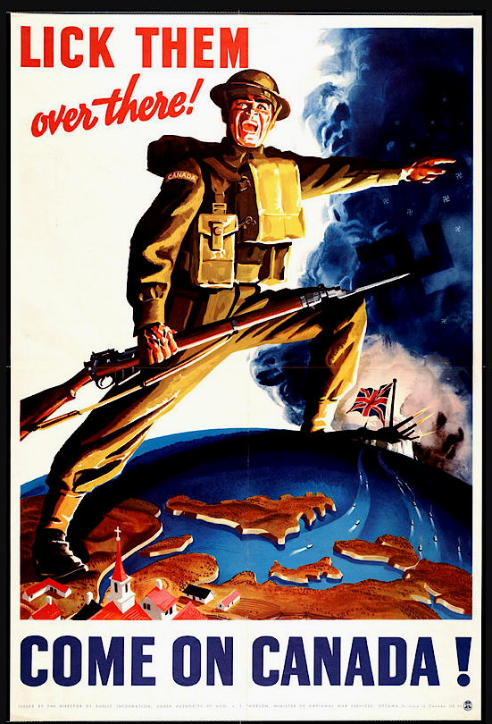 propaganda posters and canadian women in Following last week's post on wwi, we shift gears now to canadian propaganda  posters during the second world war canadian wwi and.