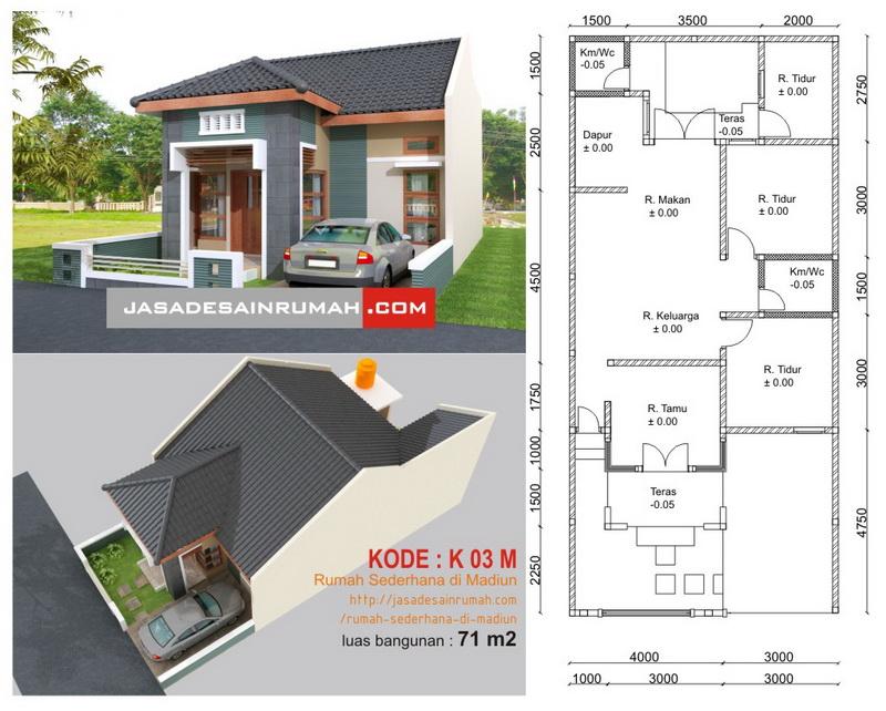 rumah sederhana di madiun jasa desain rumah