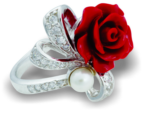 Tanya Rossi Red Rose Ring Freedom Riders Collection TRR 179 A Price