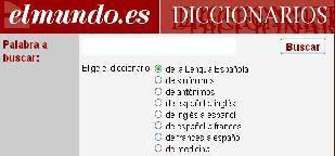 Diccionario El Mundo