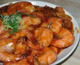 Resep Makanan Udang Rica Masak Pedas