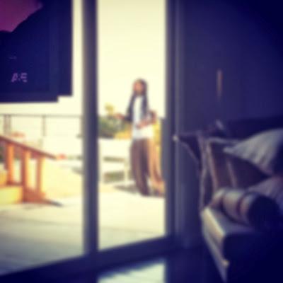 fotos de lil wayne en su casa mansion karrine dhea