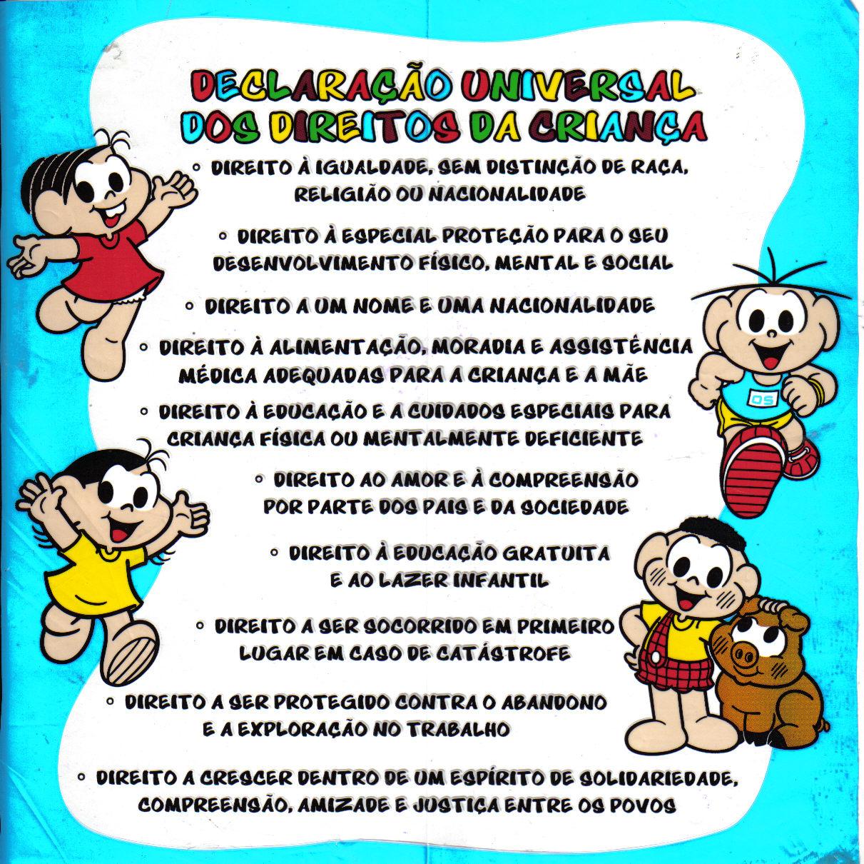 Extremamente ESPAÇO EDUCAR: Atividades sobre os Direitos das Crianças! KS36