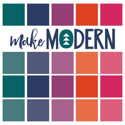 Proud contributor to Make Modern digital quilt magazine