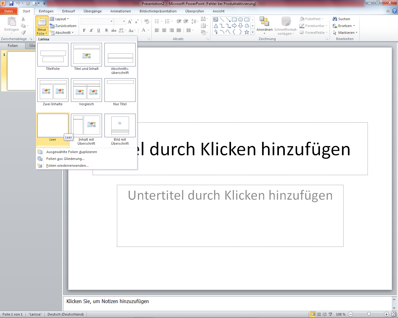 Peter\'s Tech-Blog: ClipArt Animationsfilm mit PowerPoint erstellen