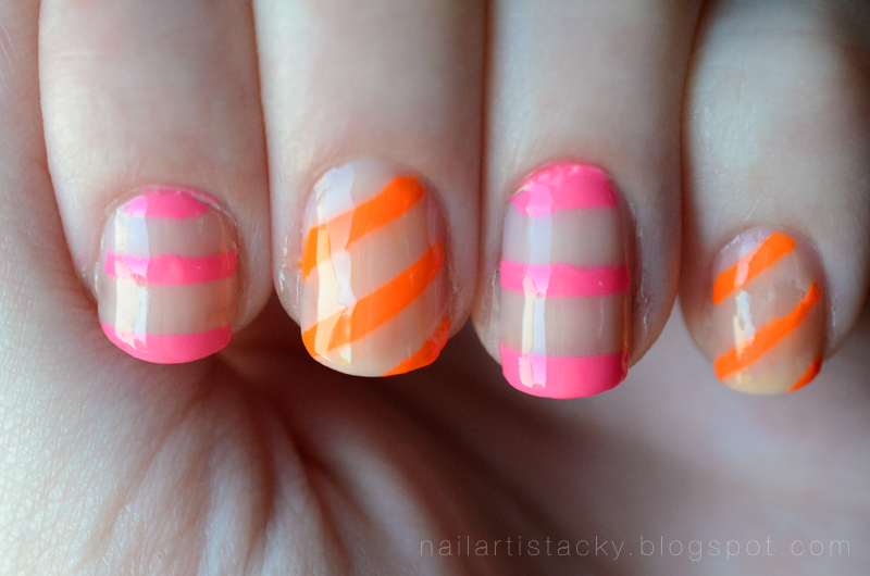 Nude & Neon Nail Art - OCC Anime - OCC Beta