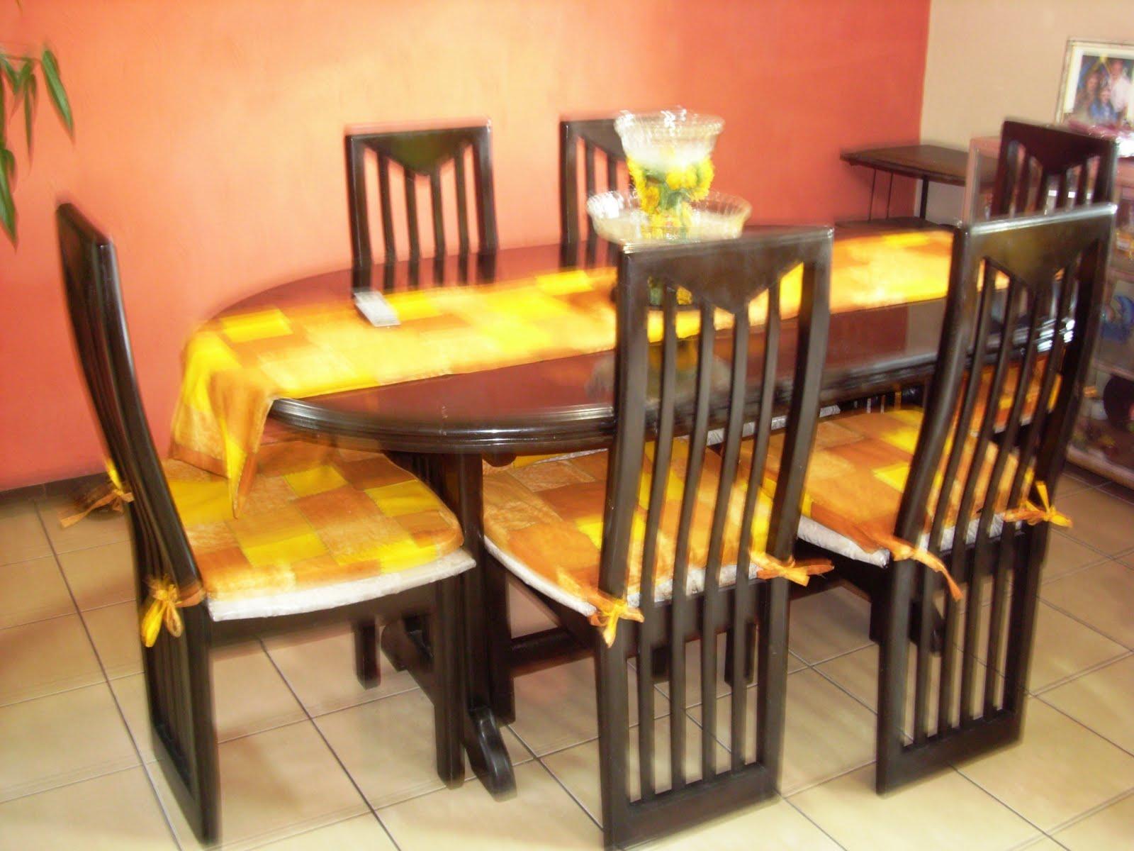 Eventos los girasoles 4 confeccion de todo tipo de ropa - Fundas sillas comedor ...