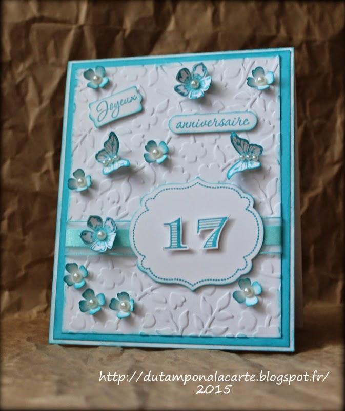 Du tampon la carte anniversaire carte printani re for Casser un miroir conjurer le sort