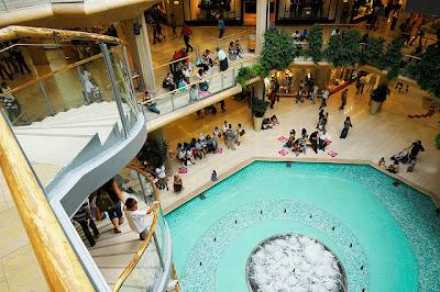 Centrul comercial Part-Dieu - interior