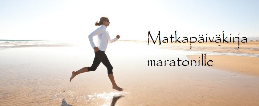Matkapäiväkirja maratonille