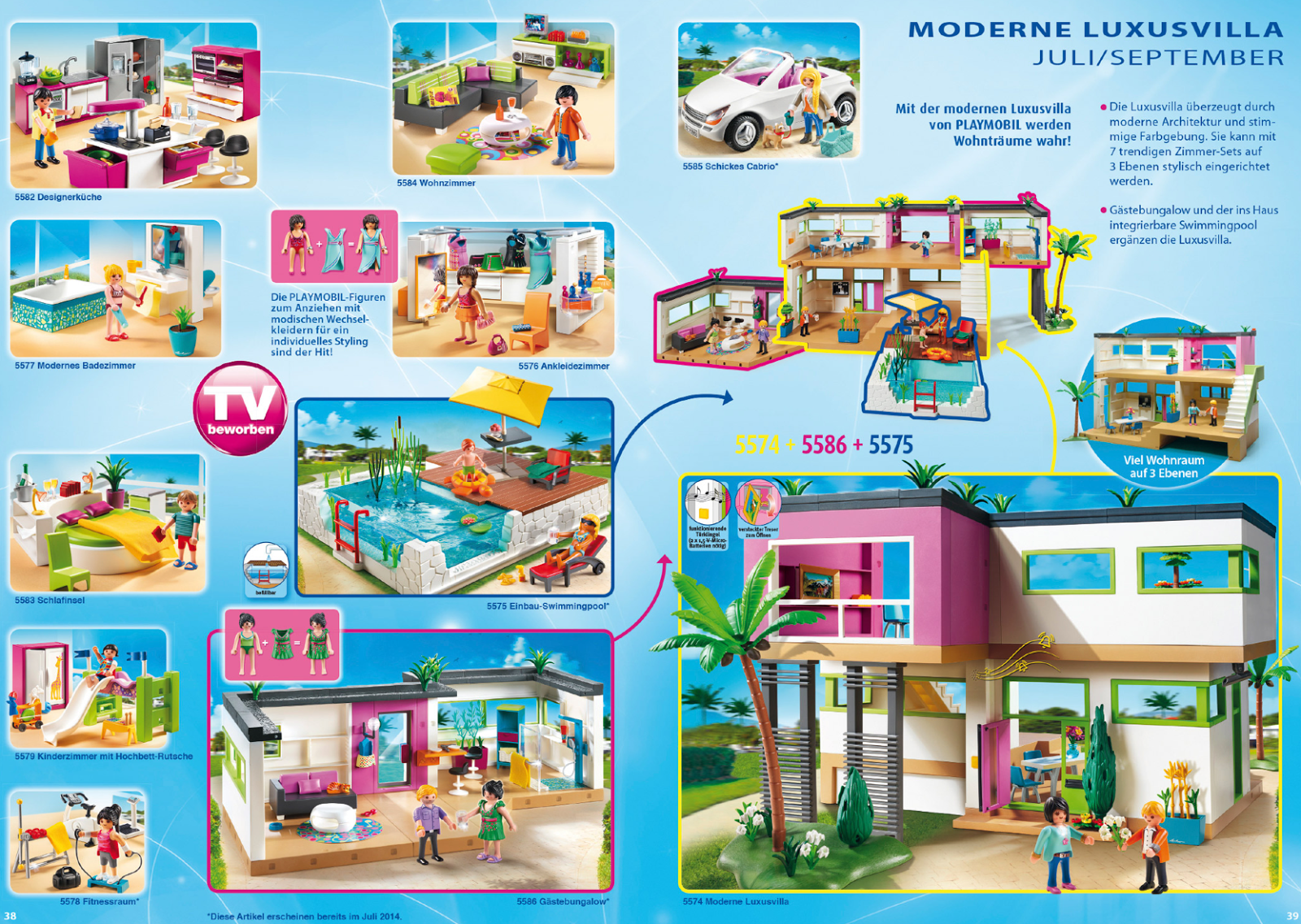 Beautiful maison moderne playmobil gallery for Cuisine playmobil