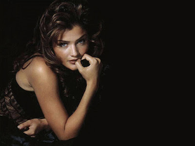 Danish Model Helena Christensen Wallpaper