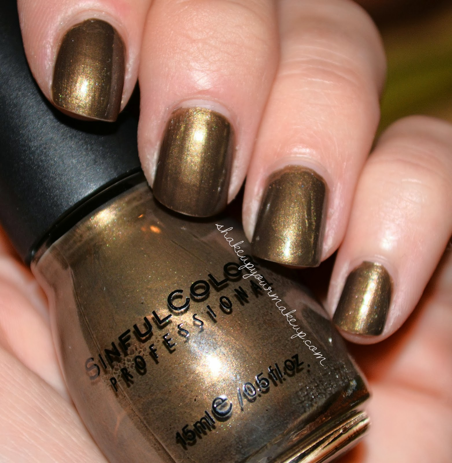 Nail Polish Colors Bronze: NOTD: Sinful Colors Dark Bronze