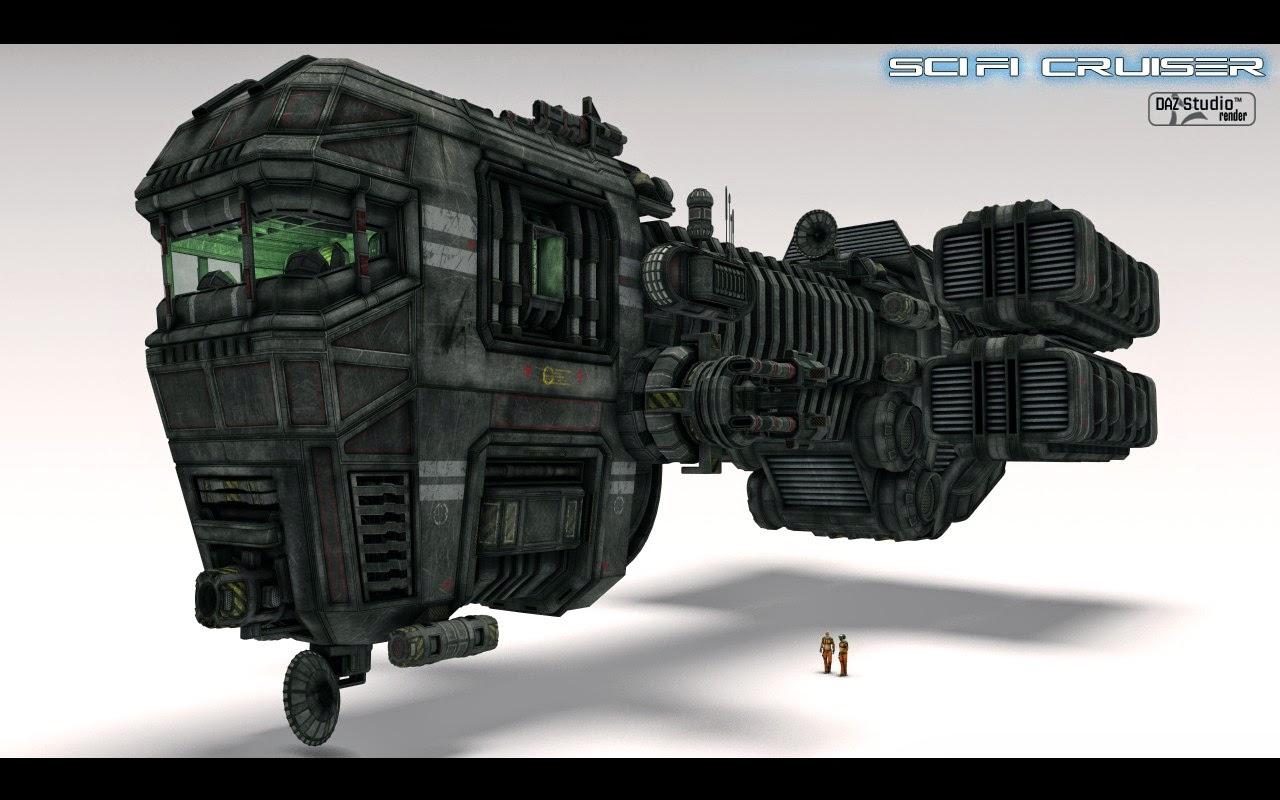 Sci Fi Cruiser